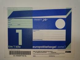 Netherlands EuroPakketzegel 1998 Upto 1 Kg Not Used  Euro Pakketzegel  Zone 1 - Interi Postali