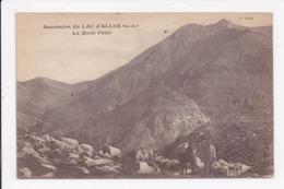 CP 04 Ascension Du  Lac D'ALLOS Le Mont Pelat - France