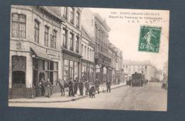 59 -  629 / SAINT AMAND LES EAUX  - Départ Du Tramway De VALENCIENNES  Edt J.D.V   Commerces - Saint Amand Les Eaux