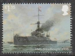 GB 2019 £1.35 ROYAL NAVY SHIPS HMS Dreadnaught ** MNH - 1952-.... (Elizabeth II)