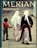 Merian Illustrierte Montenegro , Viele Bilder 1977  -  Geheimnisvoller Skutari-See - Der Njegos - Reise & Fun