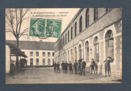 59 -  8 / SAINT AMAND LES EAUX  - INTERIEUR DU COLLEGE COMMUNAL (la Cour).    EDIT. Micol Depos De Journaux - Saint Amand Les Eaux