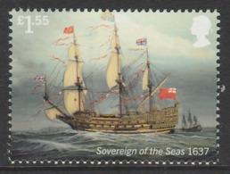 GB 2019 £1.55 ROYAL NAVY SHIPS Soverign Of The Seas ** MNH - 1952-.... (Elizabeth II)