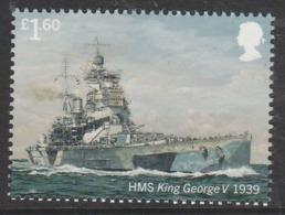 GB 2019 £1.60 ROYAL NAVY SHIPS HMS George V ** MNH - 1952-.... (Elizabeth II)