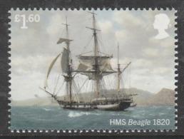 GB 2019 £1.60 ROYAL NAVY SHIPS HMS Beagle V ** MNH - 1952-.... (Elizabeth II)