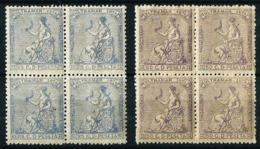 Cuba (Española) Nº 28/9 [4] Nuevo Cat.12,60€ - Cuba (1874-1898)