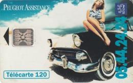 FRANCIA. Peugeot Assistance 3. 120U. 07/94. 0490. (228) - Autos