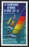 """Nle-Caledonie YT 582 """" Championnat Hobie-cat """" 1989 Neuf** - New Caledonia"""