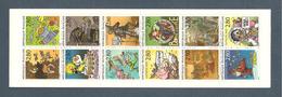 France, Carnet BC2848c, 2e Tirage, Dentelé 12½, BC2848, BC2848a, Carnet Neuf **, Non Plié, TTB, Le Plaisir D'écrire - Carnets
