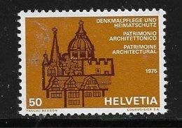 VV17 - SUISSE - PO989**MNH De 1975 - Patrimoine Architectural - - Ungebraucht