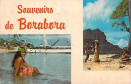Polynésie Française SOUVENIRS De BORABORA Bora Bora (BV)(vahiné) (Photo SOUNAM Tahiti  C 18495)*PRIX FIXE - Polynésie Française