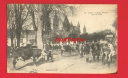 14 Calvados  CAEN La Place Du Parc Jour De Foire - Caen