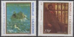 """Nle-Caledonie YT 585 & 586 """" Tableaux """" 1989 Neuf** - Nueva Caledonia"""