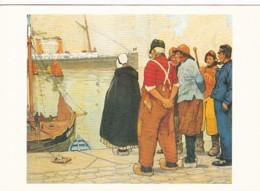 195525Henri Cassiers (1858-1944)  ,,Ostende'' (REPRO) - Illustrateurs & Photographes