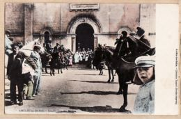 X66127 A SAISIR Vente Immédiate AMELIE-les-BAINS Bénédiction Des MULETS Arles 1905 à MARECHAL Lyon -Librairie XATARD - Francia