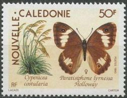 """Nle-Caledonie YT 590 """" Papillon """" 1990 Neuf** - New Caledonia"""