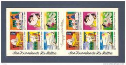 France, Carnet BC3071A, BC 3071A, BC9, BC 9, Carnet Neuf **, Non Plié, TTB, Les Journées De La Lettre - Carnets