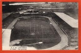 CPA - D92 - COLOMBES - (Haut De Seine) - Oblitéré 1934 -  Le  Stade - Vue  Générale - A. C. 94 - - France