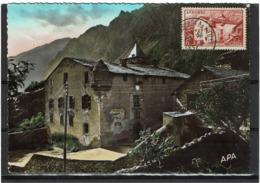 LCTN57/2 - ANDORRE 8F MAISON DES VALLEES SEUL SUR CP 12/9/1951 - Lettres & Documents