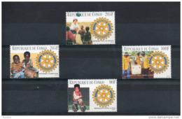 Congo.  Anniversaire Du Rotary. - Rotary, Lions Club