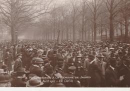 - N°8 - Manifestation à La Mémoire De JAURES, 6 Avril 1919 - Le Défilé - 003 - France