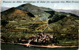 Panorama Des Böhm. Mittelgebirges Bei Salesl (die Sogenannte Böhm. Maler-Strasse) - Tschechische Republik