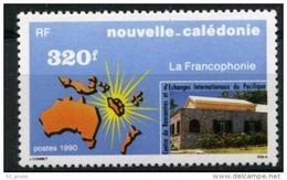 "Nle-Caledonie YT 598 "" Francophonie "" 1990 Neuf** - Nouvelle-Calédonie"