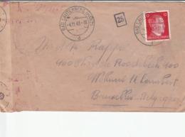ENVELOPPE TIMBREE DE 1943 - Vieux Papiers