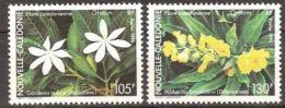 """Nle-Caledonie YT 599 & 600 """" Flore """" 1990 Neuf** - New Caledonia"""