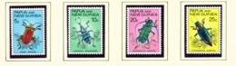 PAPUA NEW GUINEA  -  1967 Beetles Set Unmounted/Never Hinged Mint - Papua New Guinea