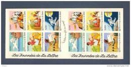 France, Carnet BC3161A, BC 3161A, BC18, BC 18, Carnet Neuf **, Non Plié, TTB, Les Journées De La Lettre - Carnets