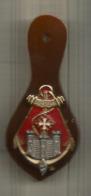 INSIGNE , 7 E Régiment D'Infanterie De Marine , Drago , Noisiel , G 3345 ,2 Scans , Frais Fr 1.75 E - Navy