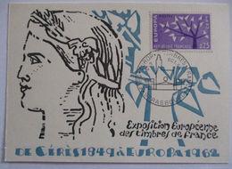 Frankreich, Maximumkarte Europa Cept Von 1962 (21298) - [7] Repubblica Federale