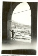 ( VILLEFRANCHE SUR MER )( 06 ALPES MARITIMES )ECHAPPEE SUR  LE PORT  .1938 - Lugares