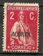 Timbres - Portugal - Iles Adjacentes - Açores - 1912/25 - 2 C. - - Açores