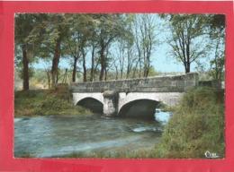 CPSM   Grand Format -  Giey Sur Aujon    -(52.Hte Marne ) - Pont Sur L'Aujon - Autres Communes