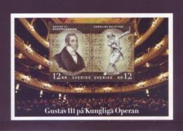 Svezia 2012 - Gustavo III Di Svezia, Opera Di Esprit Auber. Foglietto MNH** - Svezia