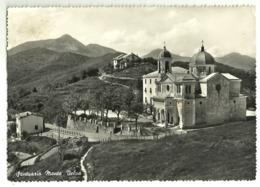 "5550 ""SANTUARIO MONTE VELVA""- CARTOLINA POSTALE ORIGINALE SPEDITA 1956 - Italia"