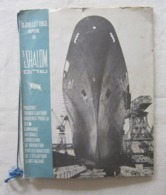 Baptême Paquebot Shalom 1963 Rare Ensemble Documents Photos Menu Billet Avion St Nazaire Ben Gurion Judaica Israel - Boats