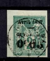 Guyane YT N° 3 Oblitéré. B/TB. A Saisir! - Used Stamps