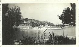 ( VILLEFRANCHE SUR MER )( 06 ALPES MARITIMES )( BATEAUX DE GUERRE )( NAVIRE AMERICAIN )  .1938 - Barche