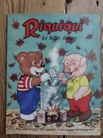 """Riquiqui Les Belles Images N°85 : 1958 / Riquiqui Dans """"La Soupe De Bois"""" (Champignons) (Roudoudou-Riquiqui) - Books, Magazines, Comics"""