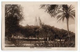 Algérie -- BONE -ANNABA -- 1933 -- Cathédrale D'Hippone  .......  Timbre --cachet - Annaba (Bône)