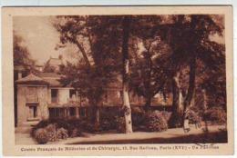 SANTE . MEDECINE .CENTRE FRANCAIS DE MEDECINE ET CHIRURGIE 12 Rue BOILEAU PARIS XVI . UN PAVILLON - Salute