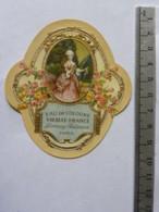 Etiquette De Parfum - Lorenzy Palanca Paris - Eau De Cologne - Vieille France - Etichette