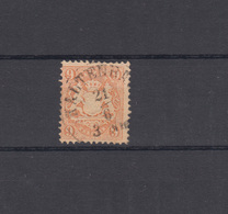 Bayern 28Y Wappen 9 Kreuzer - Stempel 19 KALTENBACH 21.6. - Bavaria