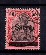 Sarre YT N° 16 Oblitéré. B/TB; A Saisir! - Gebraucht