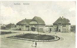 CPA  Saarlouis Bahnhof Gare - Kreis Saarlouis