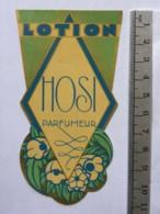 Etiquette De Parfum - HOSI Parfumeur - Lotion - Labels