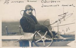 Pionnier Aviation NERI CP PHOTO Avec Texte Et Signature AUTOGRAPHE  - 2/2/1911 - Luftfahrt